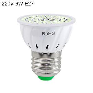 6W 220V UV Germicidal Lamp E27 LED Light Bulb For School Hospital Restaurant TTY