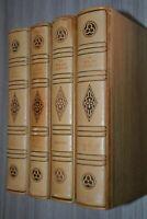 LES ROMANS COURTOIS EN 4 VOLUMES UNION LATINE D'EDITION ILLUSTRATIONS CIRY