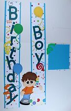 BIRTHDAY BOY Scrapbook Border Title Scrapbooking album Creative Celebrate