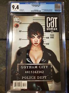 CATWOMAN #51 CGC 9.4 LOST Numbers ADAM HUGHES Cover DC COMICS Gotham City Sirens