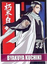 "Carte Card PANINI "" BLEACH "" Character Bio Cards N° 53 BYAKUYA KUCHIKI"