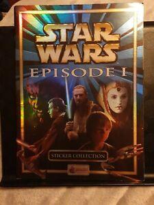 Star Wars Episode 1 Merlin sticker collection