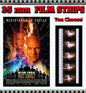 STAR TREK - FIRST CONTACT - 35mm Film Cell Strips - You Choose! UPDATED Feb 18!