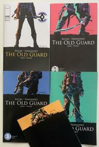 The Old Guard #1 to 5 complete series (Image 2017) FN+ to VF+ issues