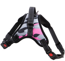 UK STOCK Dog Chest Harness with Reflective Stitching For Medium Large Size Dog