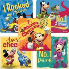 """25 Mickey Roadster Racers Patient Stickers, 2.5""""x2.5"""" ea."""