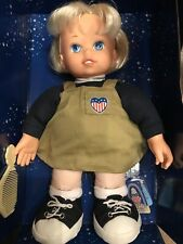 USA Vintage Liberty Belle Doll  🗣Pledge of Allegiance To The Flag Girl Toy 🇺🇸