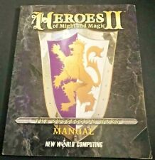 Heroes Of Might And Magic II Manual Book 1996 New World Computing First Edition