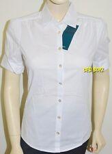 BNWT - NNT Womens Short Sleeve Shirt White - Sizes: 6, 8, 10, 12, 14, 16, 18