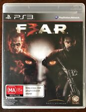FEAR 3 - PlayStation 3 Ps3 Game *Complete*