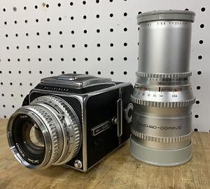 Hasselblad 500C Medium Format Camera w/ 80mm and 250mm