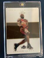 LEBRON JAMES 2004 FLEER FLAIR #35 2ND YEAR BASE CARD NBA CLEVELAND CAVALIERS