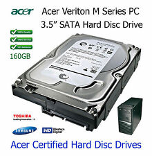 """160GB Acer Veriton M421G 3.5"""" SATA Hard Disc Drive (HDD) Upgrade / Replacement"""