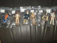 Lot of 6 Vintage Star Wars action Figures variety Kenner 1980s ROTJ luke!+ bin88