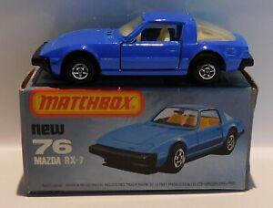 Matchbox Superfast Series 76 Mazda RX 7/ Savanna RX-7
