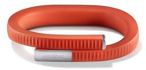 Jawbone UP24 Wristband Fitness Activity Tracker Persimmon Red. Large