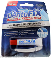Dentafix Temporary Filling Repair ::Repair Fillings Fast::Strong Temporary Fix::