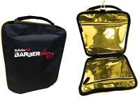 BaByliss Pro Barberology Gold Lined Barber Clipper Bag Travel Storage Case