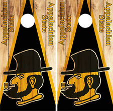 Appalachian State Mountaineers Cornhole Wrap NCAA Skin Decal Vinyl Set CO954