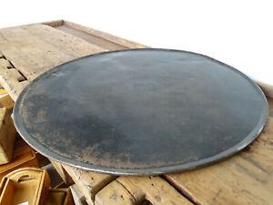 W0183 Sehr großes rundes Backblech   Backbrett   70 cm Durchm.   Food Fotografie
