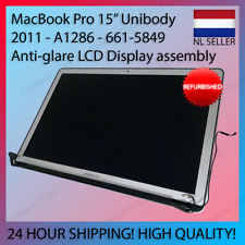 """MacBook Pro 15"""" 2011 A1286 Anti-Glare Hi-Res LCD Display Assembly 661-5849"""