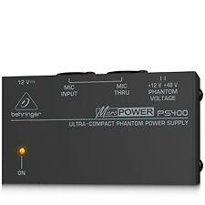 Behringer PS400 Micropower Phantom Power Supply