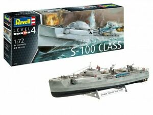 Model Kit Of Fitting boats Revell German Fast Attack Craft S-100