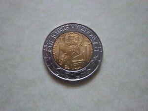 1997 COMMEMORATIVE COIN OF ITALY[#593]1947 -1997 STRADALE POLIZIA ISSUE