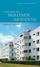 Siedlungen der Berliner Moderne von Markus Jager (2012, Taschenbuch)