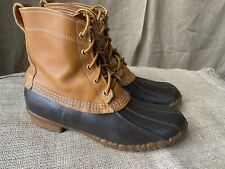 Vintage LL Bean Maine Hunting Shoe Duck Boot Womens Size 9 Freeport ME