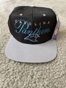 Vintage NFL Carolina Panthers Snapback Hat Drew Pearson NWT Rare!