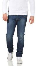 Diesel Jeans Thavar 0855L Herren Hose Slim Skinny Röhrenjeans Dunkelblau