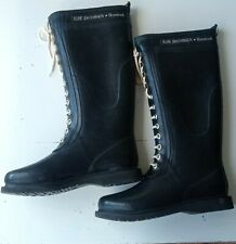 ILSE JACOBSEN Hornbaek Wellington Long High Rain Wellies Boots  39/ 6 UK / 8 US