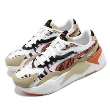 Puma RS-X3 W.Cats Wns Wildcats Pale Khaki White Leopard Women Casual 373953-01
