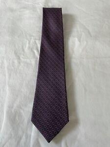 Preowned Men's Hermes 100% Silk Tie