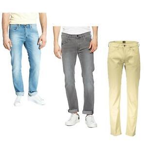 Lee Men's Jeans Daren Regular Fit Straight Leg Stretch Comfort Pants Trousers