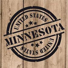 Vinilo de Corte Minnesota Pegatina Minnesota USA United States 10 cm Adhesivo