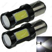 2X 1157 P21/5W 4 COB + 1 CREE LED Turn Signal Light Tail Brake Bulb Car ZE053