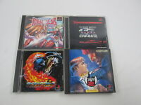 4 games Toshinden Subaru Street Figher SET Playstation PS Japan Ver