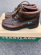 Vintage Eastland Mens Leather Shoes Size 7 M Made In USA Vibram Soles