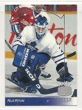 1993-94 Upper Deck SP Insert - #160 - Felix Potvin - Toronto Maple Leafs