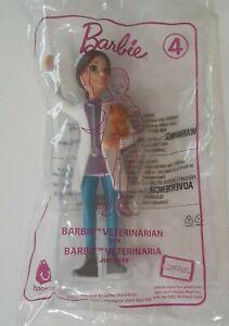 McDonalds Happy Meal Toy 2019 Barbie - Veterinarian #4 - New in Package