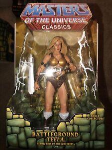 Mattel Masters of the Universe Classics BATTLEGROUND TEELA MOC 4 HORSEMEN MOTUC