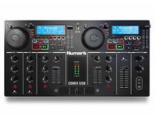 CD NUMARK CDMIX LETTORE CDJ MP3 / USB 2 DECK CON MIXER 3 BANDE USCITE BILANCIATE
