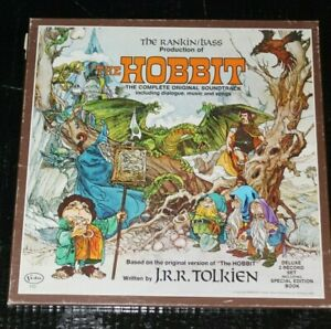 The Hobbit: The Complete Original Soundtrack. Rankin/Bass. w/Book and Poster.