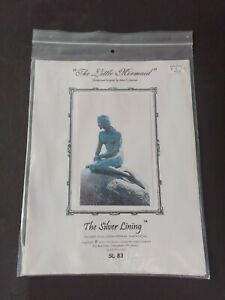 """""""The Little Mermaid"""" Cross Stitch Pattern by Marc J. Saastad, The Silver Lining"""