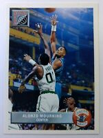 1993 93 Upper Deck Future Force Alonzo Mourning Rookie RC #P44, Hornets