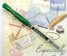 2 pcs Uni-Ball UM-153 1.0mm Broad gel pen GREEN ink