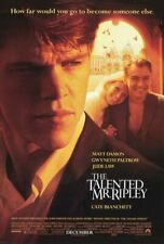 The Talented Mr Ripley Ds 1Sh C9 Nm Original Movie Poster Matt Damon Jude Law