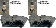 2 (TWO) 11.2/12.4R24 11.2-24 12.4-24 12.4x24 Tractor Tire Inner Tubes Heavy Duty